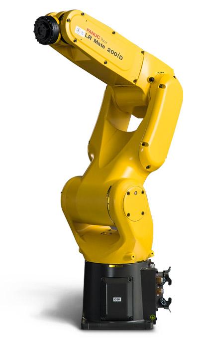 今回用いたロボット「LR Mate 200iD」(FANUC公式サイトより引用)