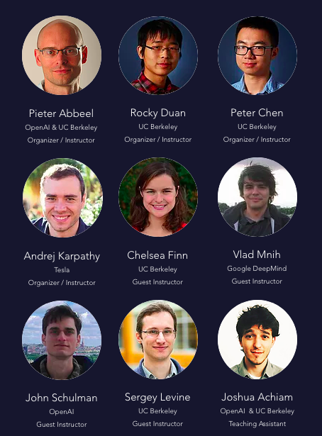 Deep Reinforcement Learning Bootcamp: Event Report