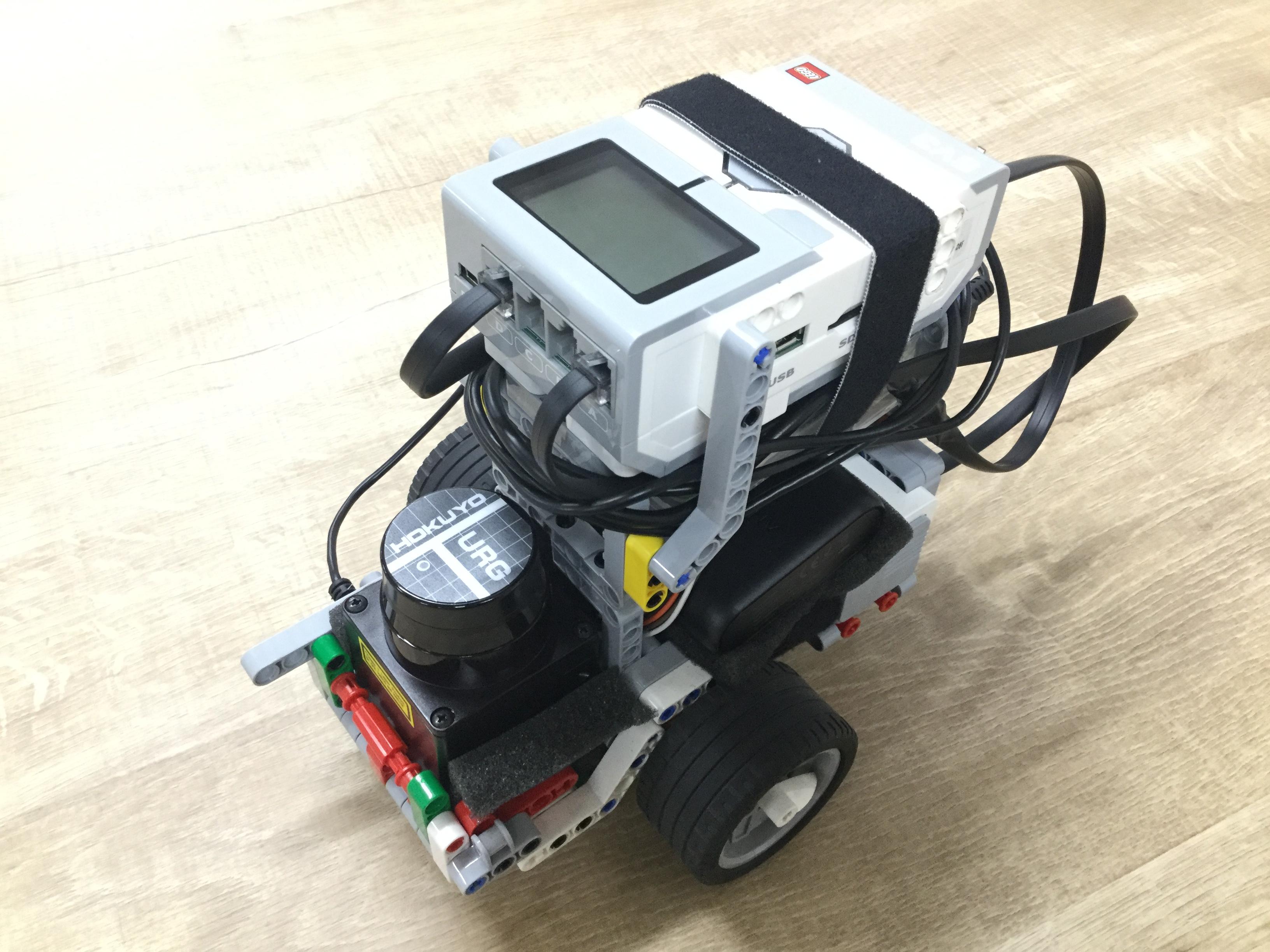 実センサを搭載したロボットカーの深層強化学習による自律制御