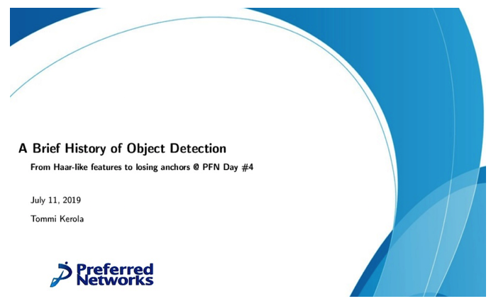 A Brief History of Object Detection – from Haar-like features to losing anchors