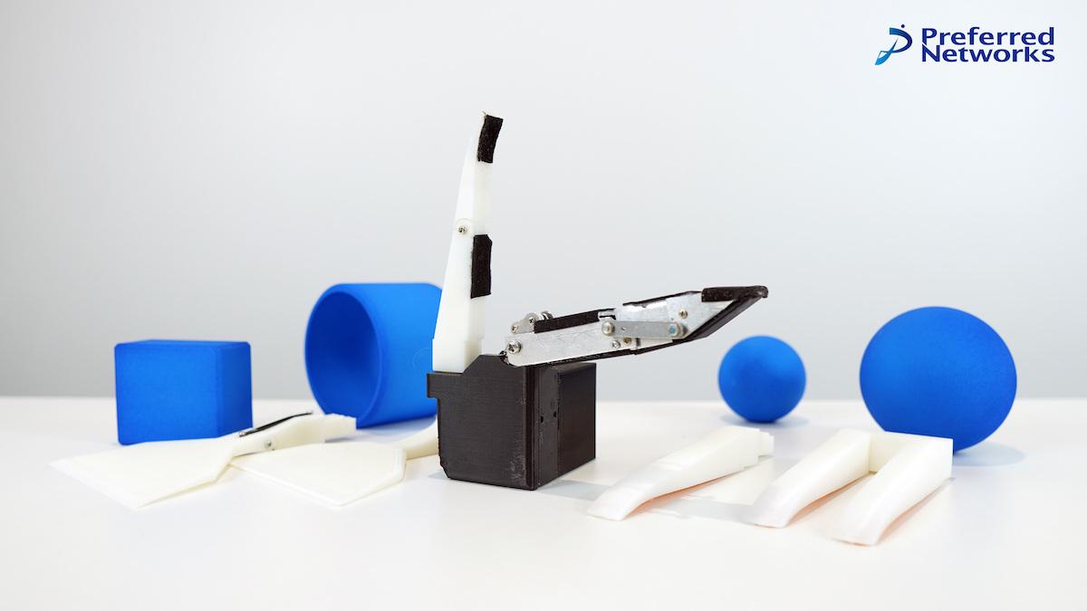 受動機構を持つ1指駆動型汎用ロボットハンド