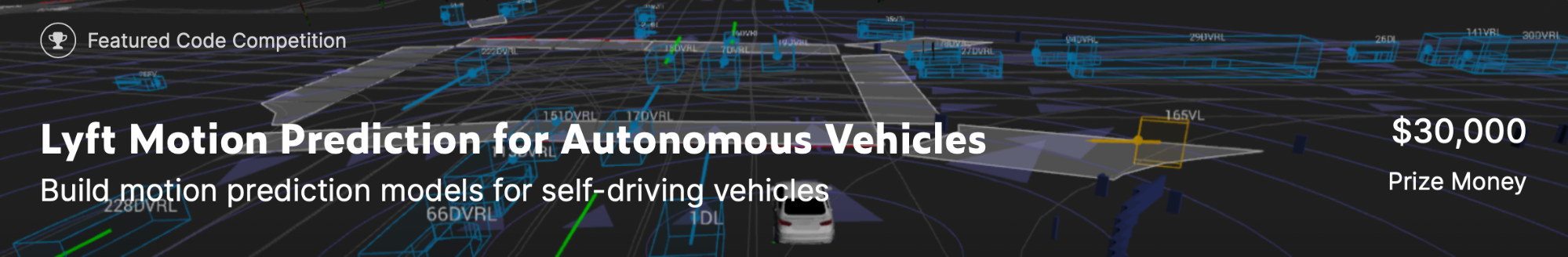 Kaggle Lyft Motion Prediction for Autonomous Vehiclesで4位に入賞しました
